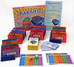 Hebrew game parsh-o cards