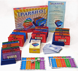 Hebrew game parsh-o cards